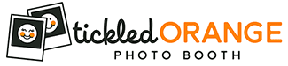 Tickled Orange Photobooth Logo